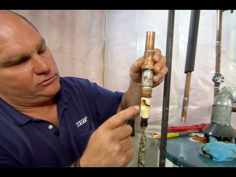 How to Replace a Corroded Water-Heater Fitting