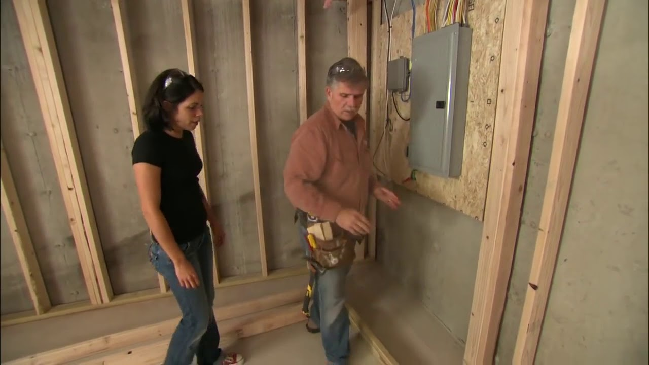 How to Frame Walls for a Basement Room